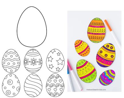 1 easter eggs