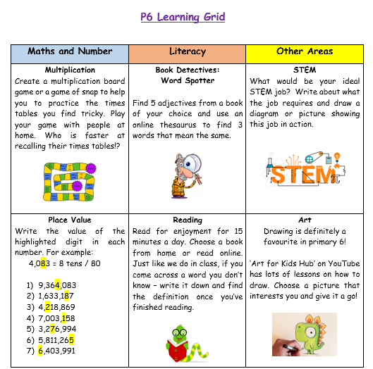 P6 Home Learning Week 3 (1)
