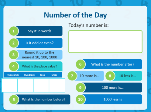 P6 Number of the Day
