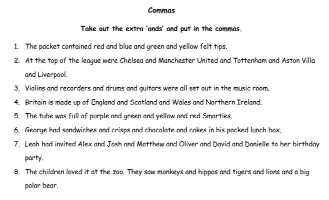 Commas new
