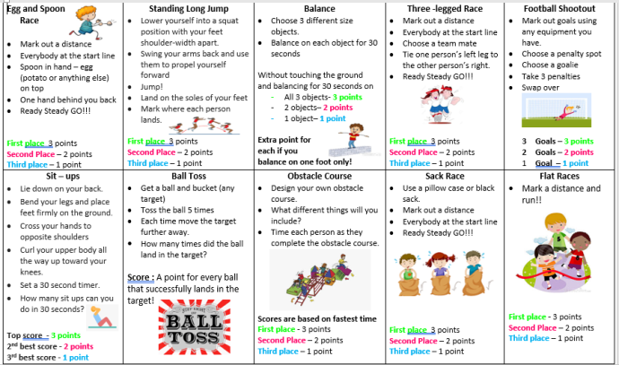 Sports Day Events